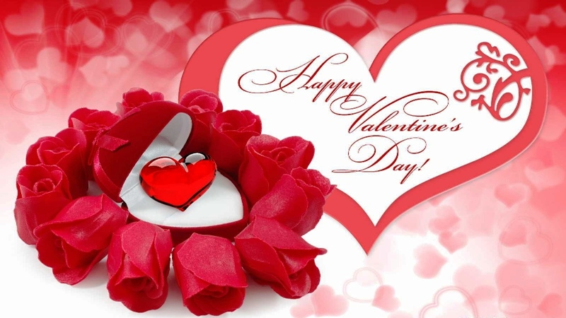 Calendar Rose Day : Will u be my valentine say it this week